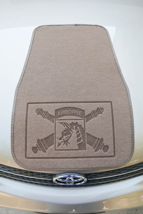 Command Presents Laser Engraved Car Mats Personalized