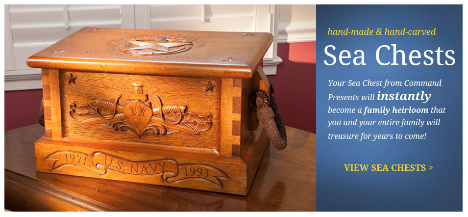 Command Presents Personalized Military Gifts, Nautical Gifts and Nautical Woodworking